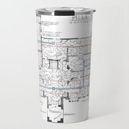 Haunting of Hill House Blueprint Travel Mug