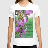 poem T-shirts featuring Mother's Day Poem  by Frankie Cat