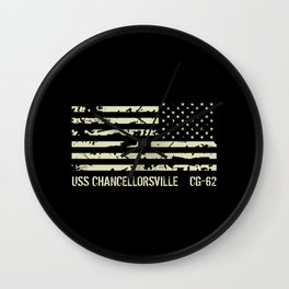 USS Chancellorsville Wall Clock