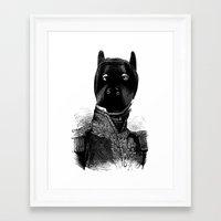 bdsm Framed Art Prints featuring BDSM XXXVII by DIVIDUS