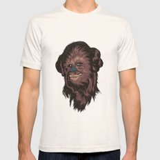 Chewie Natural Mens Fitted Tee LARGE