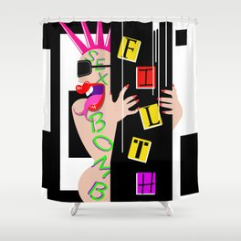 Sex Bomb Boogie Shower Curtain