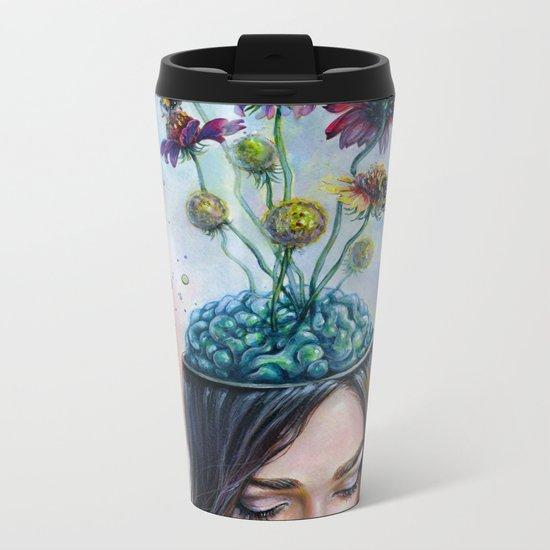 Pollination Metal Travel Mug