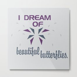 Beautful Butterflies Metal Print