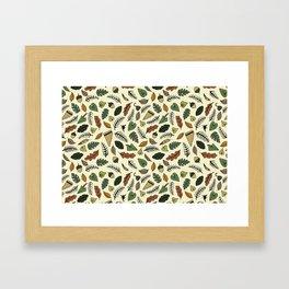 Neverland Pattern Framed Art Print