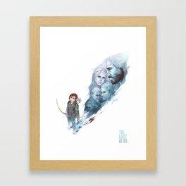 Last of Us Framed Art Print