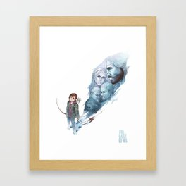 Last of Us Framed Art Print