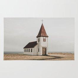 Hellnar Church, Iceland Rug