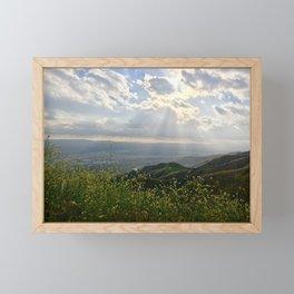 Rays of Sun Framed Mini Art Print