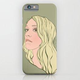 Chloe Sevigny iPhone Case