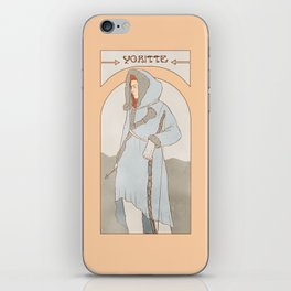 red-haired wildling iPhone Skin