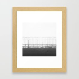 Winter amusement in MTL Framed Art Print