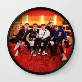 Why Don't We Wall Clock