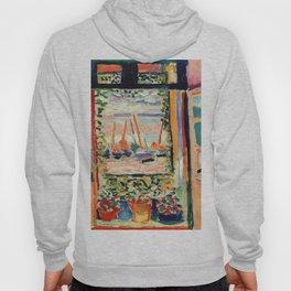 Henri Matisse The Open Window Hoody