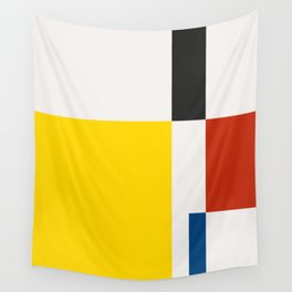 Mid Century Modern Vintage 21 Wall Tapestry