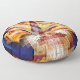 Character Identity Search. Floor Pillow