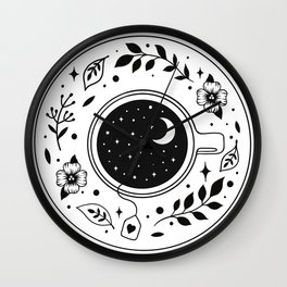 A Cup of Moonshine  Wall Clock