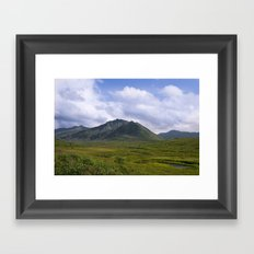In The Valley - Alaska Landscape Framed Art Print