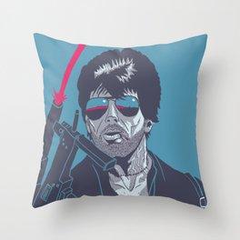 Cobra - Stallone Throw Pillow