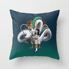 Who I Am Inside Throw Pillow