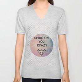 Shine on you crazy Diamond Unisex V-Neck