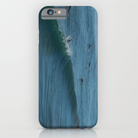 Waves on Sunday iPhone & iPod Case