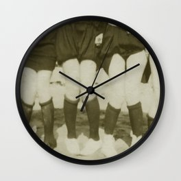 Twenties Girls at the Beach Wall Clock