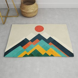 The hills are alive Rug