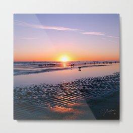 Daytona Beach Sunrise Metal Print