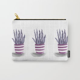 Purple succulents trio Carry-All Pouch