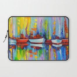 Sailboats berth Laptop Sleeve