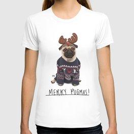 Merry Pugmas 1 T-shirt