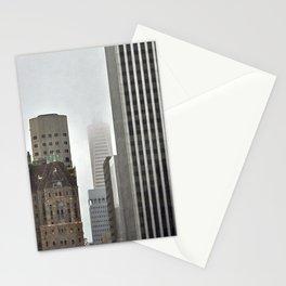 Transamerica Pyramid in Fog Stationery Cards