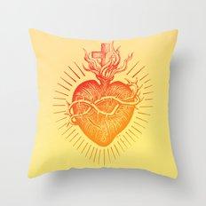 Bleeding Heart – Scarlet version Throw Pillow