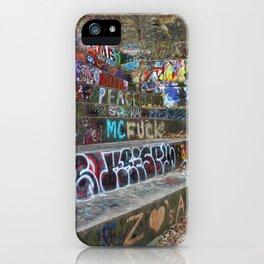 Graffiti in the wild iPhone Case