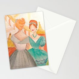 At The Ball Stationery Cards