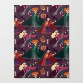 The Witch is Back! Canvas Print
