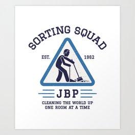 Jordan Peterson - Sorting Squad Art Print