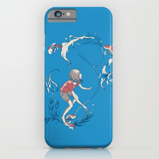 FISH AND WATER iPhone & iPod Case