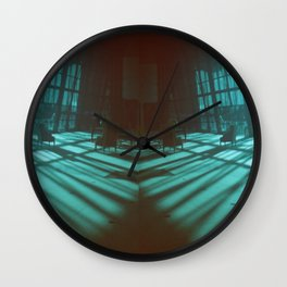 bluespace Wall Clock