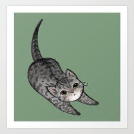 Brown Kitten Art Print