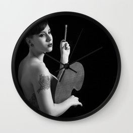 The art of custom corporeal. Wall Clock