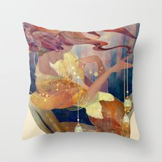 seri seri Throw Pillow