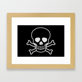 Jolly Rodger Framed Art Print