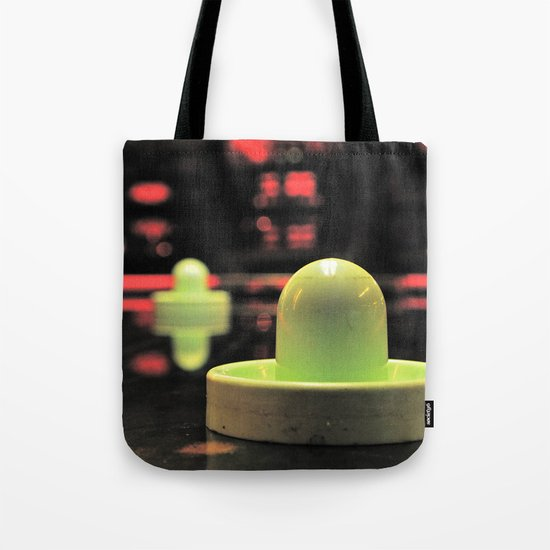 Arcade bokeh Tote Bag