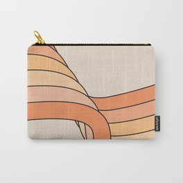 Tangerine Ribbon Carry-All Pouch