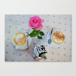 """Kate's Kitchen Cappuccino""   Canvas Print"