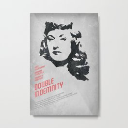 Double Indemnity Metal Print