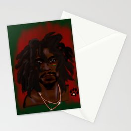 Loc'd King Stationery Cards