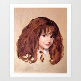 Hermione Art Print